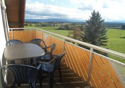 Ferienhof Bock in Amtzell | Balkon